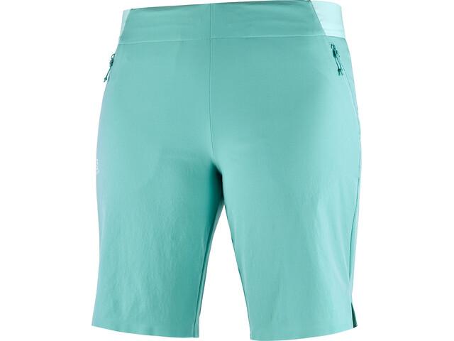 Salomon Wayfarer Pull On Shorts Women meadowbrook